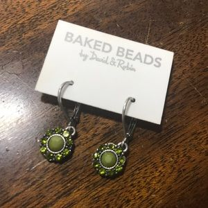 Baked Beads by David and Robin Earrings